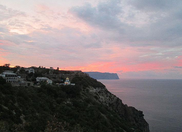 6_Св.Георгиевский монастырь на рассвете