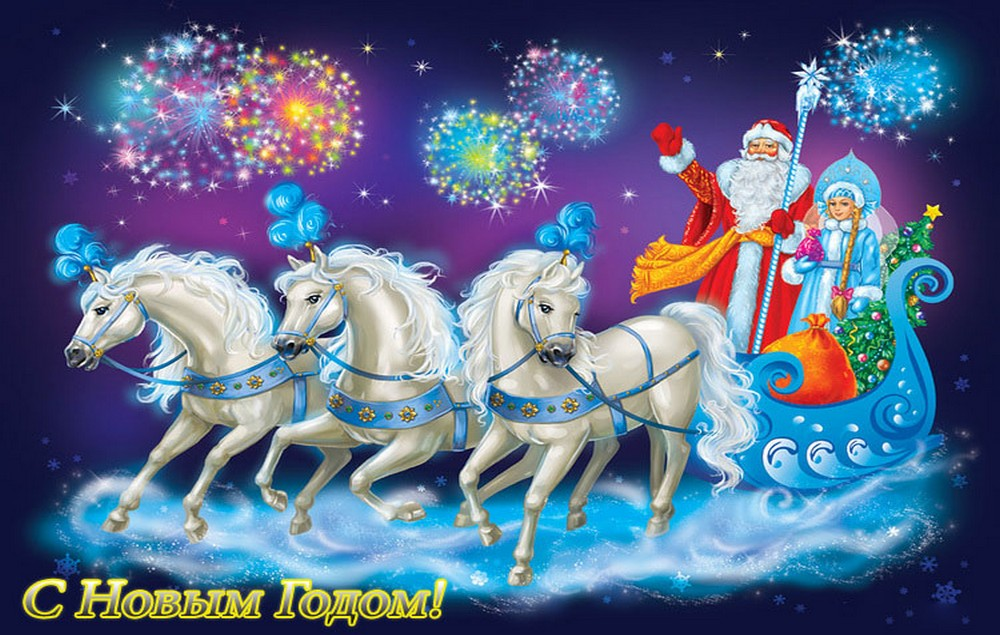 Дед Мороз и Снегурочка 2016