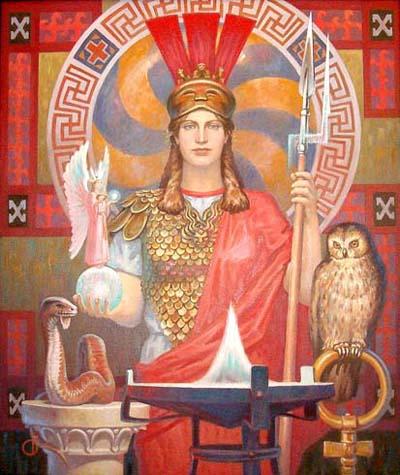 """""""White Goddess of Wisdom"""" by Boris Olshansky"""