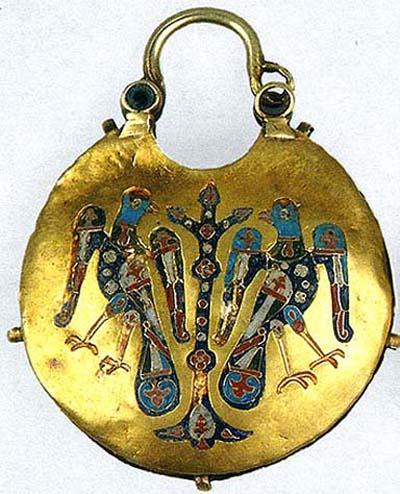 """The Tree of Heaven"" (golden earings)"