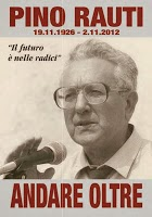 Cartolina Pino Rauti